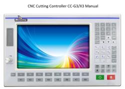 دانلود راهنمای دستگاه CNC با کنترلر CC-G3/X3 Manual